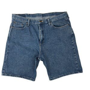 Wrangler Mens High Rise Relaxed Fit Jean Shorts